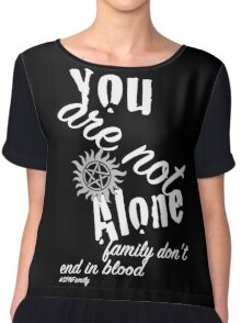 You Are Not Alone Chiffon Top