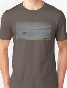 Red Boat Moored WC20150714b Unisex T-Shirt
