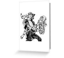 JoJo's Bizarre Adventure: Steel Ball Run - Johnny & Gyro Greeting Card
