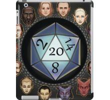 D&D D20 Races iPad Case/Skin