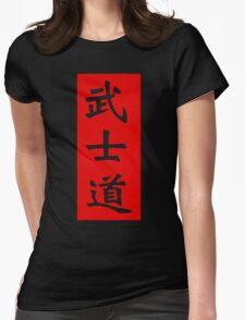 Bushido Kanji Womens Fitted T-Shirt