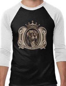 In Dog We Trust (emblem)     Men's Baseball ¾ T-Shirt