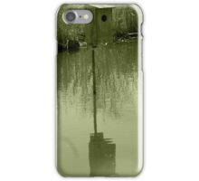 Nesting Box in a Marsh iPhone Case/Skin