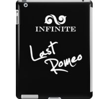 "Infinite - Last Romeo ""white"" iPad Case/Skin"