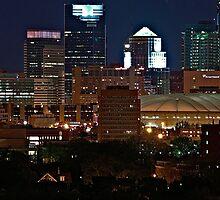 Minneapolis Skyline by tvlgoddess