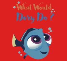 What would baby dory do One Piece - Short Sleeve