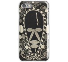 African Witch Doctor iPhone Case/Skin