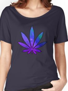 Space Weed Women's Relaxed Fit T-Shirt