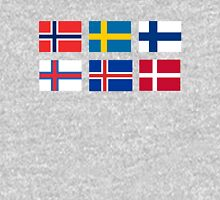 Scandinavian flags Unisex T-Shirt