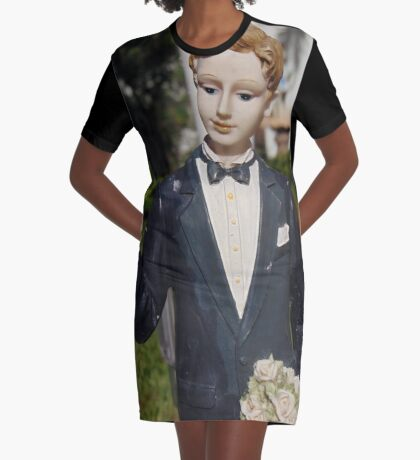Groom Graphic T-Shirt Dress