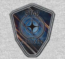 Star Citizen Logo - MultiColour One Piece - Short Sleeve