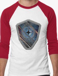 Star Citizen Logo - MultiColour Men's Baseball ¾ T-Shirt