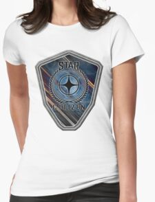 Star Citizen Logo - MultiColour Womens Fitted T-Shirt