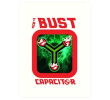 THE BUST CAPACITOR Art Print