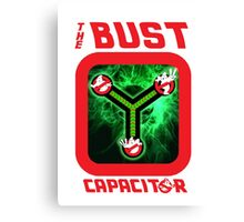 THE BUST CAPACITOR Canvas Print
