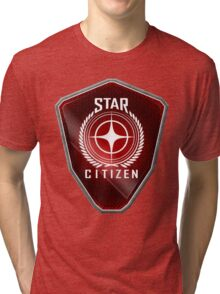 Star Citizen Logo - Red Tri-blend T-Shirt