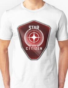 Star Citizen Logo - Red T-Shirt