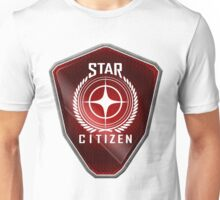 Star Citizen Logo - Red Unisex T-Shirt