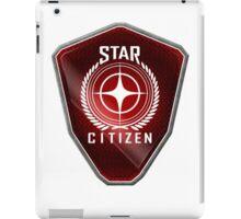 Star Citizen Logo - Red iPad Case/Skin