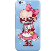 Kawaii On Titan iPhone Case/Skin