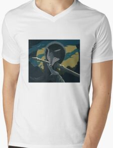 Sif, the Great Grey Wolf Mens V-Neck T-Shirt