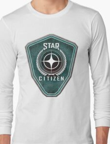 Star Citizen Logo - Green Long Sleeve T-Shirt