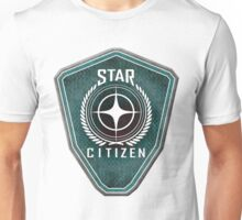 Star Citizen Logo - Green Unisex T-Shirt