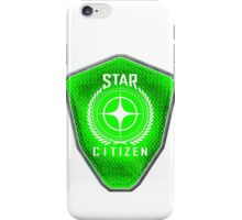 Star Citizen Logo - Lime Green iPhone Case/Skin