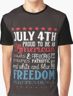 JULY 4th Graphic T-Shirt