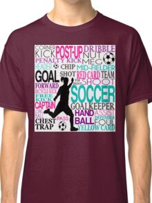 Words of football Classic T-Shirt