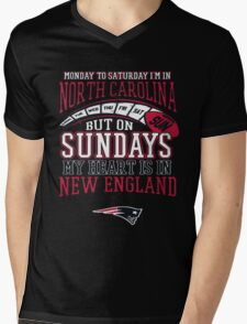 Monday to saturday i'm in... Mens V-Neck T-Shirt