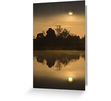 Moody Sunrise Greeting Card