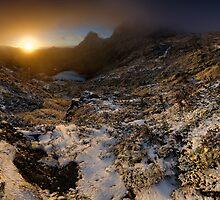 Cradle Mountain Dawning by Robert Mullner