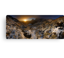 Cradle Mountain Dawning Canvas Print