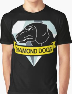 Metal Gear Solid - Diamond Dogs Graphic T-Shirt