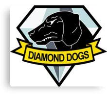 Metal Gear Solid - Diamond Dogs Canvas Print
