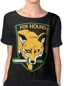 Metal Gear Solid - Foxhound Chiffon Top