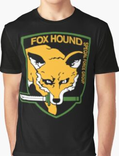 Metal Gear Solid - Foxhound Graphic T-Shirt