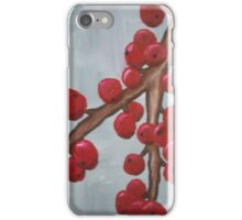 Cranberry Branch iPhone Case/Skin