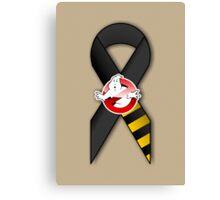 GB Tribute Ribbon Ver.2 (Face) Khaki Canvas Print
