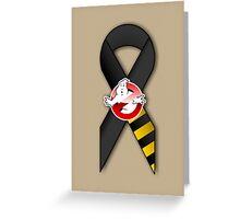 GB Tribute Ribbon Ver.2 (Face) Khaki Greeting Card