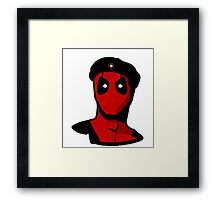 Che Guevara Deadpool Framed Print