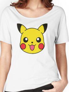 Pikachu Pattern Women's Relaxed Fit T-Shirt