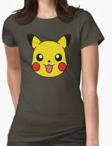 Pikachu Pattern Womens Fitted T-Shirt