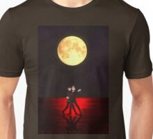 Black In The Moonlight Unisex T-Shirt