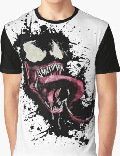Venom •Splatter Graphic T-Shirt
