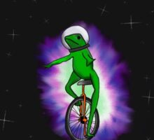 Dat Boi outerspace Sticker