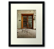 Confusion Illusion Framed Print