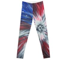 Starburst Flag Leggings