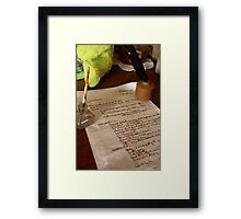 The recipe, Hill End Framed Print